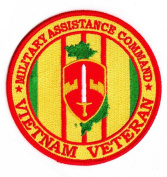 Military Assistance Command Vietnam Veteran Patch