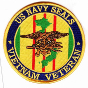 Navy Seals Vietnam Veteran Patch