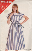 See & Sew 5535 Pattern Misses Jacket and Skirt Size B 14,16,18