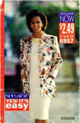 See & Sew 6957 Sewing Pattern Misses Jacket and Dress Size 6 - 10 - Bust 30 1/2 - 32 1/2