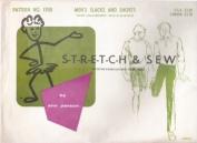 Stretch & Sew 1700 Men's Slacks & Shorts Sewing Pattern Sizes 30-32-34-36-38-40-42