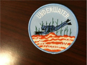 Underwater Photographer Round Patch