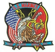 USMC Colours Never Run Small Patch