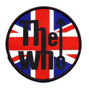The Who Union Flag sew-on cloth patch