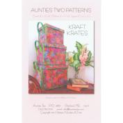 Aunties Two Patterns - Kraft Krates