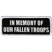 Hot Leathers In Memory Fallen Troops Patch