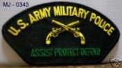 10cm Embroidered Millitary Large Patch Army Military Police
