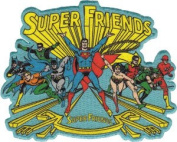 Super Friends Group Logo DC Comics Patch