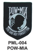 10cm Embroidered Millitary Large Patch POW-MIA
