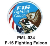 10cm Embroidered Millitary Large Patch F-16 Fighting Falcon