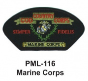 10cm Embroidered Millitary Large Patch Marine Corps