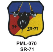 10cm Embroidered Millitary Large Patch SR-71