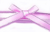 0.6cm Metallic Edge Satin Ribbon