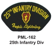 10cm Embroidered Millitary Large Patch 25th Infantry Div