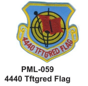10cm Embroidered Millitary Large Patch 4440 Tftgred Flag