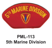10cm Embroidered Millitary Large Patch 5th Marine Division