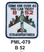 10cm Embroidered Millitary Large Patch B52