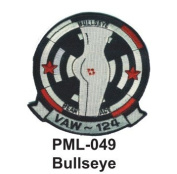 10cm Embroidered Millitary Large Patch Bullseye