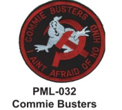 10cm Embroidered Millitary Large Patch Commie Busters