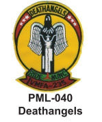 10cm Embroidered Millitary Large Patch deathangels