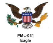 10cm Embroidered Millitary Large Patch Eagle