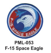 10cm Embroidered Millitary Large Patch F-15 Space Eagle