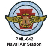 10cm Embroidered Millitary Large Patch Naval Air Station