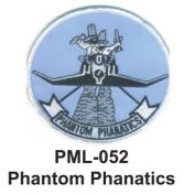 10cm Embroidered Millitary Large Patch Phantom Phanatics