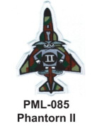 10cm Embroidered Millitary Large Patch Phantorn II