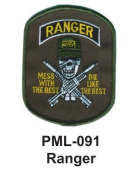 10cm Embroidered Millitary Large Patch Ranger