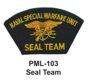 10cm Embroidered Millitary Large Patch Seal Team