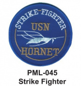 10cm Embroidered Millitary Large Patch Strike Fighter