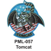 10cm Embroidered Millitary Large Patch Tomcat