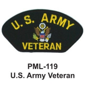 10cm Embroidered Millitary Large Patch U.S. Army veteran