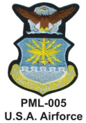 10cm Embroidered Millitary Large Patch U.S.A. Airforce
