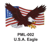 10cm Embroidered Millitary Large Patch U.S.A. Eagle