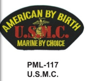 10cm Embroidered Millitary Large Patch U.S.M.C.