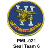 10cm Embroidered Millitary Large Patche Seal Team 6