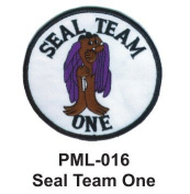 10cm Embroidered Millitary Large Patche Seal Team One