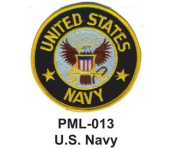 10cm Embroidered Millitary Large Patche U.S. Navy