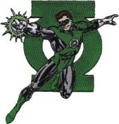 Green Lantern With Logo DC Comics Patch