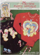 No-Sew Fabric Applique by Daisy Kingdom - Merry Kiss-Mas