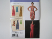 Simplicity Pattern 2882 Misses'/Misses' Petite Dress in Three Lengths with Bodice Variations Sizes 6-8-10-12-14