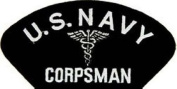 OFFICIALLY licenced Embroidered Military Navy Corpsman Large Patch 10cm x 14cm #PML-150