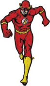 DC Comics The Flash Running Licenced Embroidered Iron On Movie Applique Patch DC13