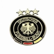Germany Deutscher Fussball-bund Fifa World Cup Soccer Iron on Patch Crest Badge Deutschland... 7.6cm X 7.6cm .. New