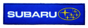 SUBARU World Rally Team Label Clothes CS10 Iron on Patches