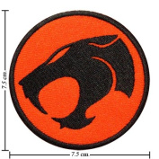 CT0013-1 Thundercats Logo-1 Embroidered Iron On Patch