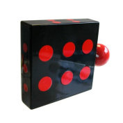 Funky Tape Measure, Black Dice
