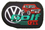 VW Volkswagen Rabbit Golf GTI MK1 Club Logo Shirts CV13 Patches